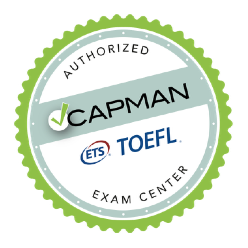 capman toefl exam center